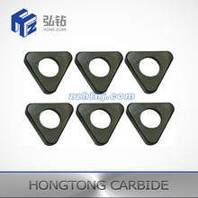 Uncoated Triangle Shape TCMW style tungsten carbide turing inserts
