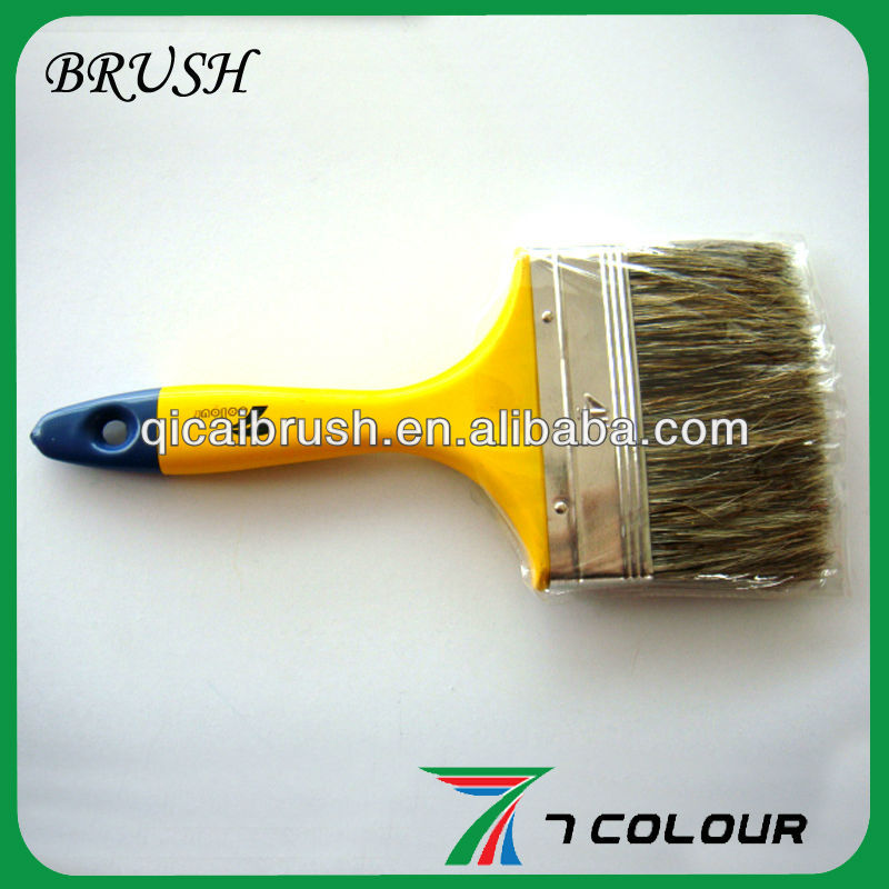 4'' Mix bristle paint brush,hand brush,paint brush pencils