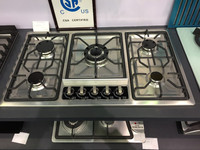 2016 33/30/24 inch Kitchen Appliance Five burner Gas Hob for hot sale