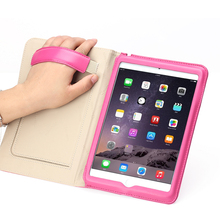 manufacture china wholesale real leather case for Apple ipad mini 4 case