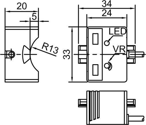 lanbao capacitive proximity sensor