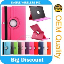 Wholesale 360 Degree Rotating Leather Flip Case Cover For ipad 3/4 stand case