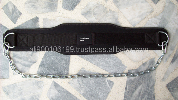 Custom made nylon Dip Belt cum weightlifting belt