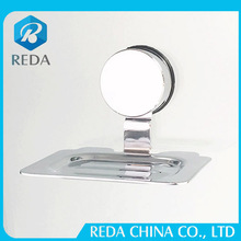 new products hanging stainless steel saop dish with wall hook suction cup