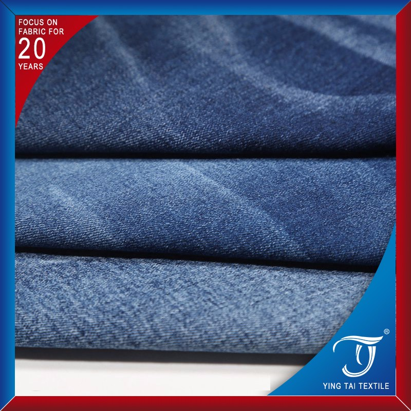 Wholesale japanese indigo square cotton knitted selvedge fabric denim