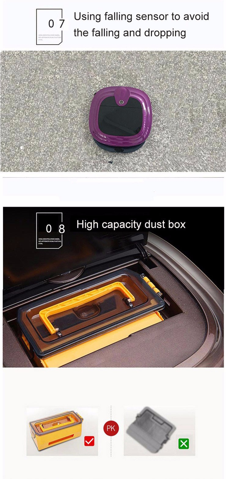 Hot-Selling high quality low price robot vacuum mop vacuum cleaner robot