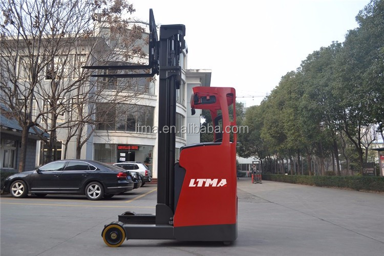 LTMA mini 2.5 ton electric reach stacker price