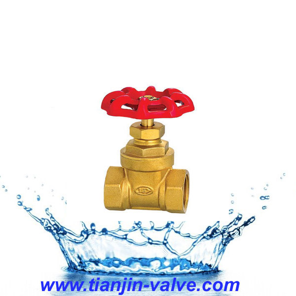 handle total body 1 inch 200wog brass gate valve pn16