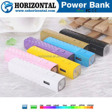 lipstick battery charger portable power bank ,2600mAh portable power source quick charge 2.0
