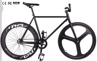 CE certification bicycle premium 700C one-piece wheel fixie bikes to Europe