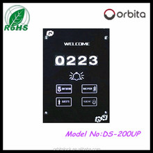 hotel electronic doorplate/hotel doorbell switch/wireless touch doorplate