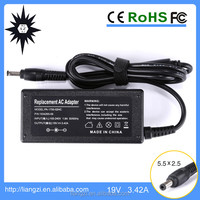 65W hot selling for lenovo Y300 ac dc adapters 19V 3.42A 5.5*2.5mm