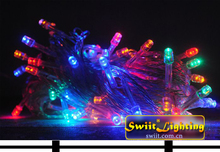 2014 Premium Quality DD10931 color changing led christmas ball
