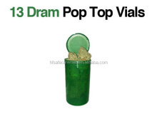 Pop Top Vials,Plastic Drug Bottle