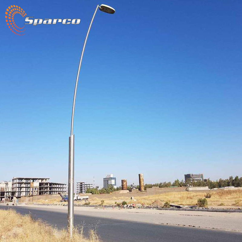 outdoor furniture bespoke durable aluminium light pole