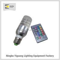 china factory price led bulb 1pc high power 3w e27 high quality