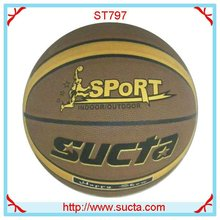 Sport logo laminated basketball ball ST797