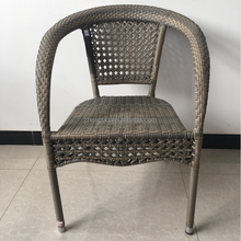 Cheapest antique plastic rattan wicker outdoor chair
