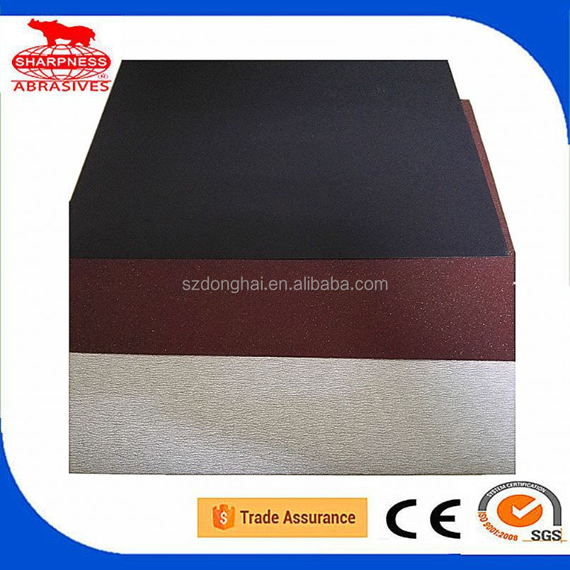 DH top coat sand paper for glass wood