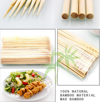 Teppo/flag/gun/golf bamboo skewer with logo