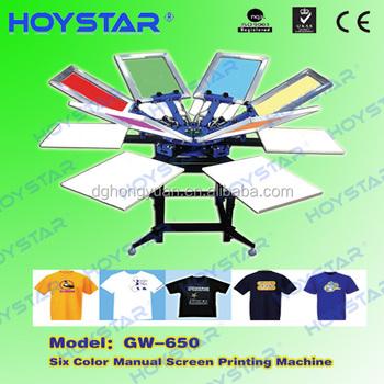 manual silk screen printing machine