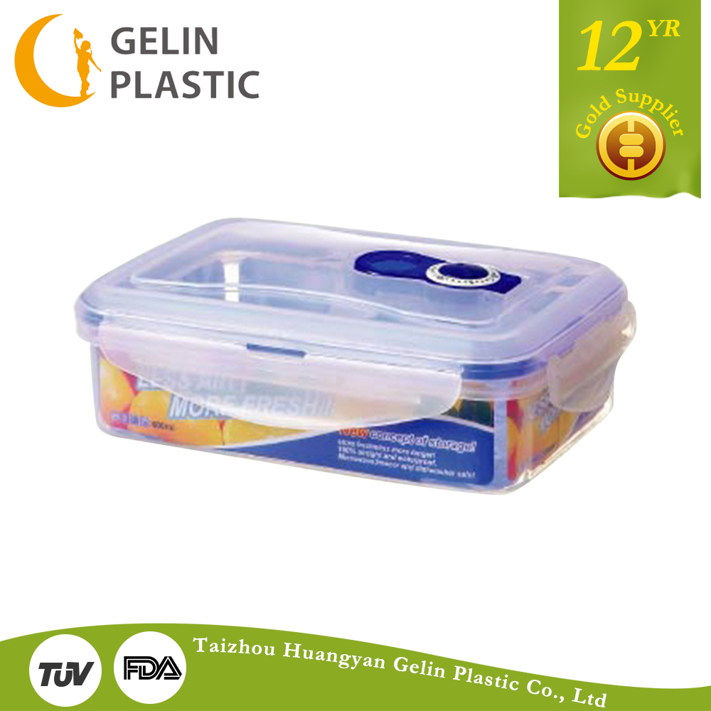 600ml rectangular date food container GL9215