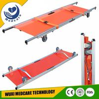 MT-F1 Folding stretcher nipple stretchers for ambulance with wheels