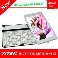 7.85 inch High resolution IPS Tablet ROCKCHIP 3188 Quad core Bluetooth keyboard Tablet PC