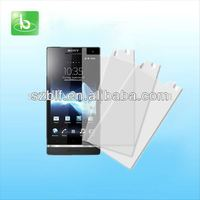 Clear scratch resistant screen protector for sony xperia tipo st21i