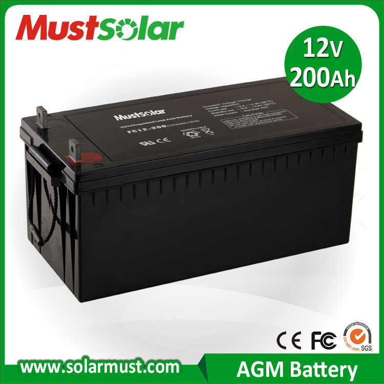 12v 200ah agm battery for solar inverter buy agm battery. Black Bedroom Furniture Sets. Home Design Ideas