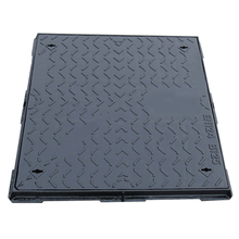 High density waterproof square heavy duty ductile iron manhole cover 300-600 Customized Size