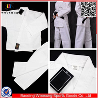 Martial art white heavy weight karate uniforms martial arts uniform