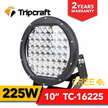 Strong power off road light 225W led work light 10 inch led driving lights