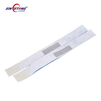 Custom Cheap Wristband One Time Use Paper Bands RFID  Bracelets For Big Festival