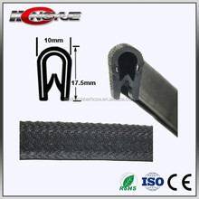 factory sell Anti-aging u shape u profile silicone rubber edging trim protection seals strips from China