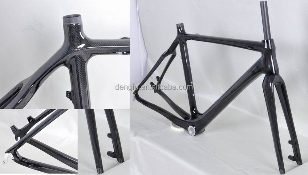 Dengfu DISC-BRAKE cyclo-cross frame FM059, carbon cyclocross frame FM059,BSA/BB30, OEM