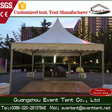 small pagoda tents for entrane, solar aluminium frame tent for sale