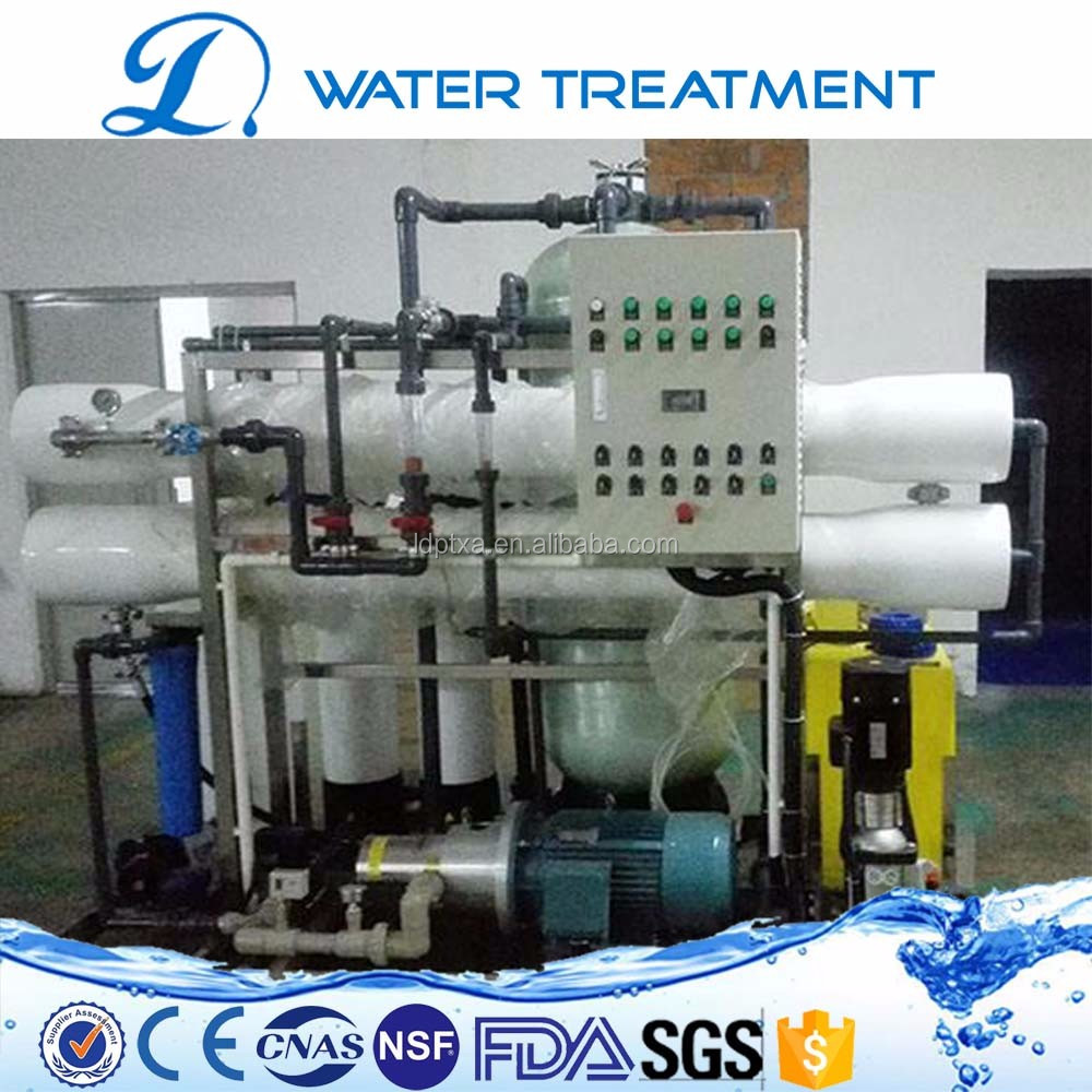 Boat desalination of seawater/groundwater desalination plant/mobile desalination plant