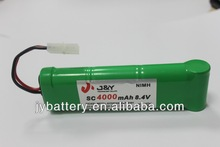 nimh rechargeable battery SC size 4000mah 8.4v