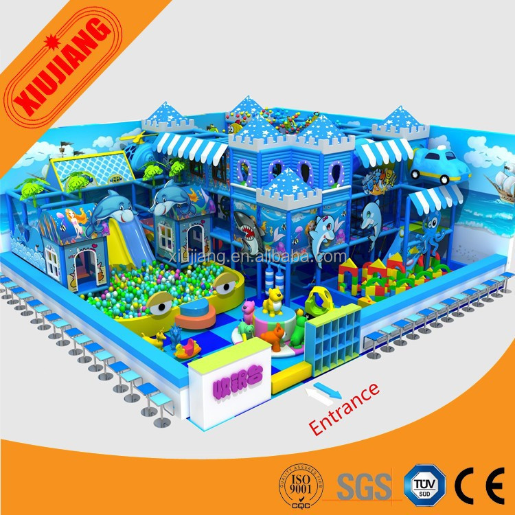 OEM creative recreation baby indoor used soft play equipment for sale