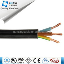 CE VDE Approved power cord European flexible pvc cable H05VV-F/kema-keur cable h05vv-f