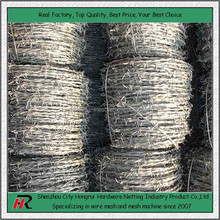 Wholesale cheap high quality galvanized PVC barbed wire philippines roll fencing prices (Hongrui professional manufacturer)