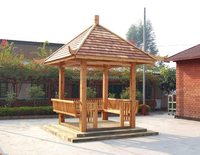 high quality Anticorrosive wooden house for garden landscaping