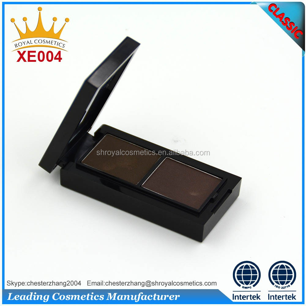 2 Color Eyebrow Powder Palette, Eye Brow Makeup Powder