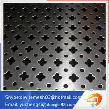 High quality aluminum perforated metal mesh for build materials