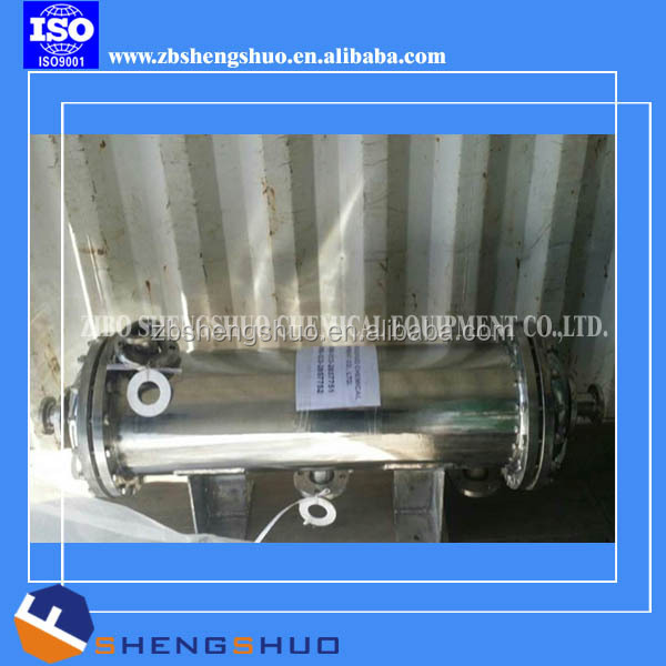 Heat exchanger glass lined disk type condenser with high quality