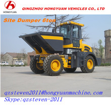 Front Loader Type and Wheel Loader Moving Type cheap Site Dumper