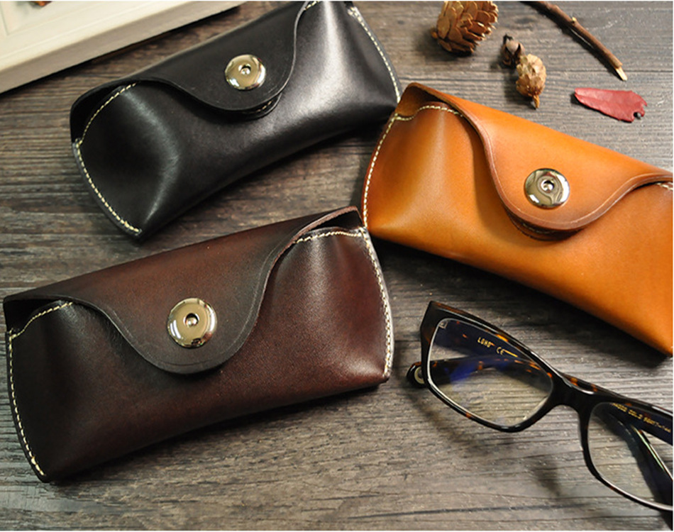 Glasses Bag/Leather Sunglasses Cases/ Eyewear Boxes for gift