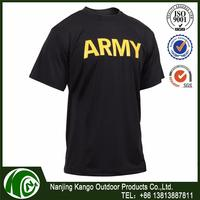 K-ANGO Middle East Marekt Oriented Fashion Model military army print t shirt