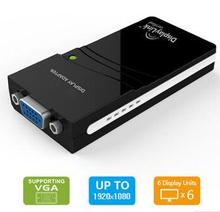USB 2.0 to VGA Multi Display Adapter with 1920 x 1081-pixel Resolution, Plug-and-play Function